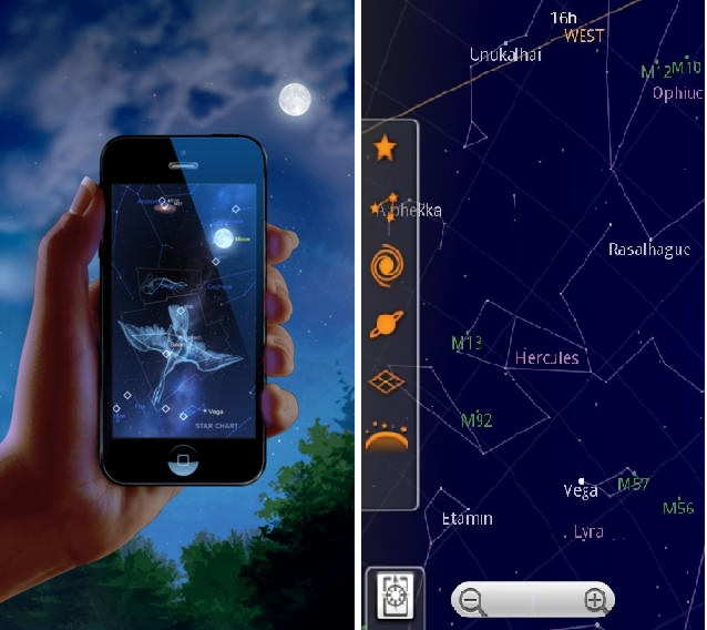 Star Chart Free App: Getting Started in Astronomy | UPEI Astronomy Information and News,Chart