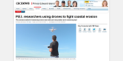 2016 06 23t PEI researchers using drones to fight coastal erosion