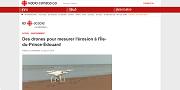 2016 07 15t Des drones pour mesurer lérosion ànbsplÎle-du-Prince-Édouard