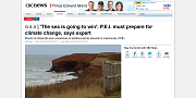 2016 12 08t The sea is going to win PEI must prepare for climate change says expert
