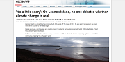 2016 12 10t Its a little scary On Lennox Island no one debates whether climate change is real