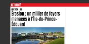 2014 02 10t Érosion un millier de foyers menacés à lÎle-du-Prince-Édouard