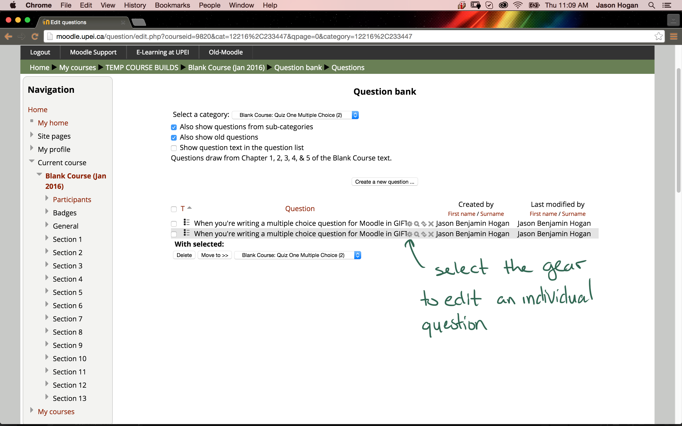 grading essay questions moodle A short guide to creating and essay question and grading student submissions.