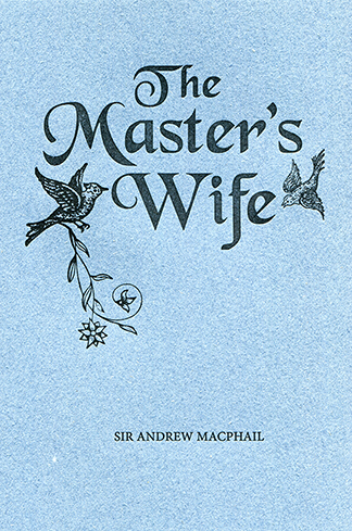 Master's Wife NEW