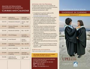 MEd Brochure 2010 - 2013pdf.