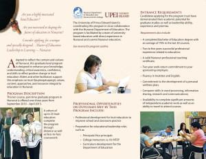 MEd Brochure 2010 - 2013 PAGE 2