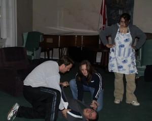 Rehearsal for Heartbreak House. (2006)