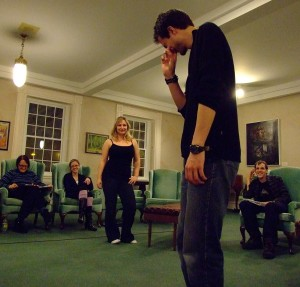 Rehearsal for The Misanthrope. (2009)