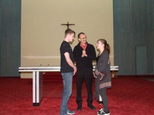 Rehearsing Romeo at The Chapel (2016)