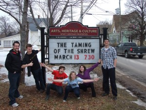 On the road with The Taming of the Shrew. (2012)