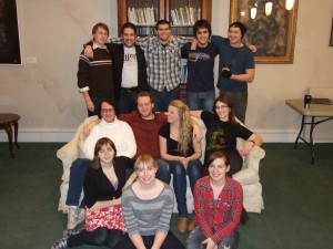 The cast of The Taming of the Shrew. (2012)